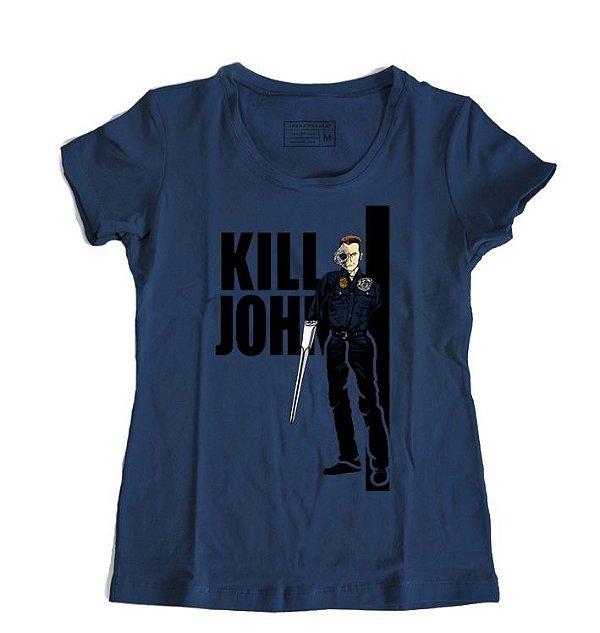 Camiseta Feminina Exterminador do Futuro