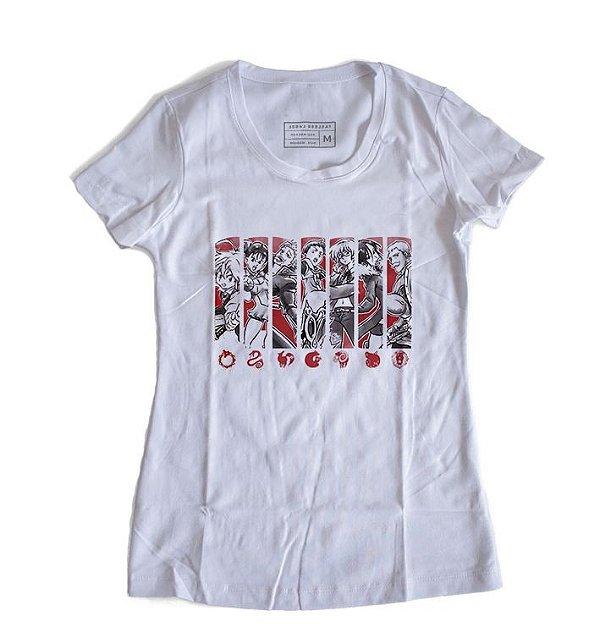 Camiseta Feminina The Seven Deadly Sins