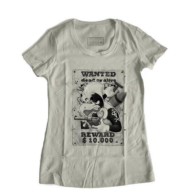 Camiseta Feminina Zeca Urubu