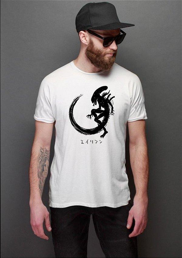 Camiseta Masculina Alien