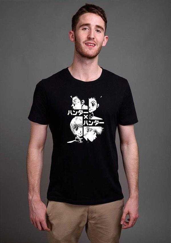 Camiseta Masculina Anime Hunter-x-Hunter HxH