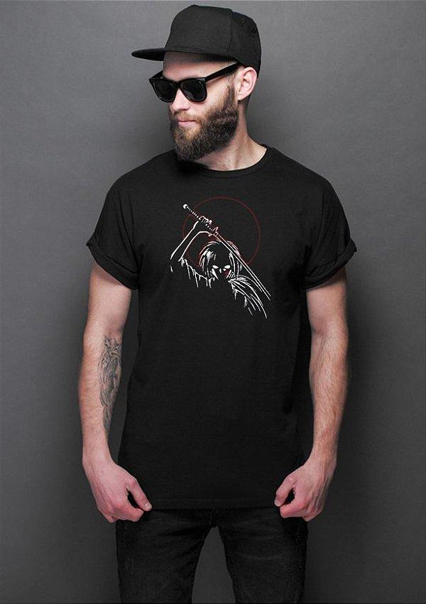 Camiseta Masculina Anime Samurai X Evil