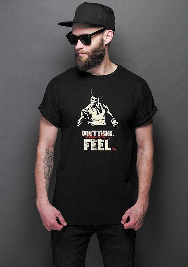 Camiseta Masculina Bruce Lee