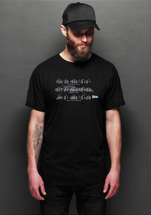 Camiseta Masculina De volta para o Futuro