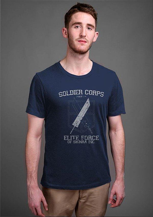 Camiseta Masculina Final Fantasy