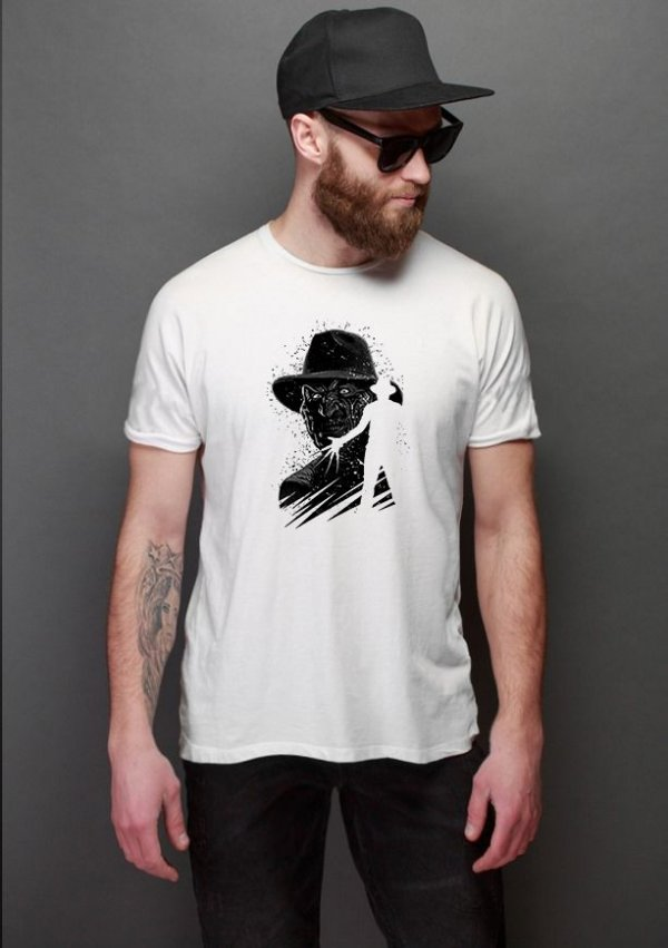 Camiseta Masculina Freddy Krueger Horror