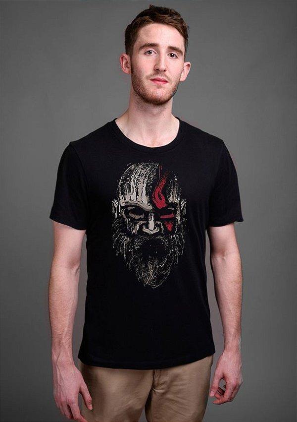 Camiseta Masculina Game God of War