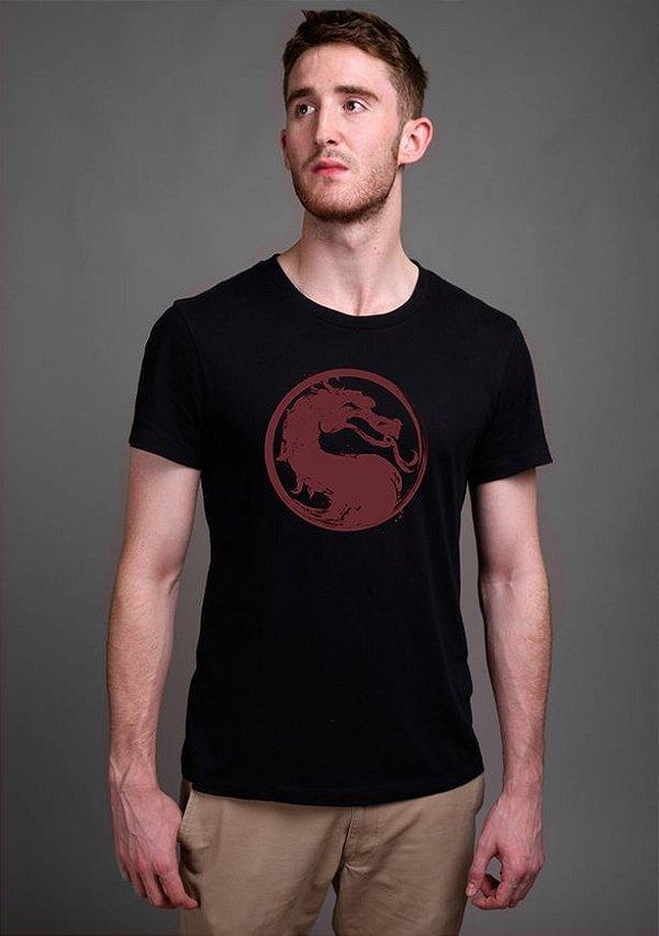 Camiseta Masculina  MORTAL KOMBAT