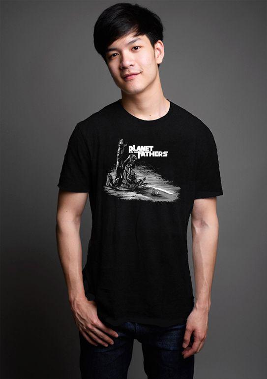 Camiseta Masculina Planet