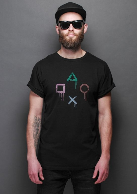 Camiseta Masculina PS Controle