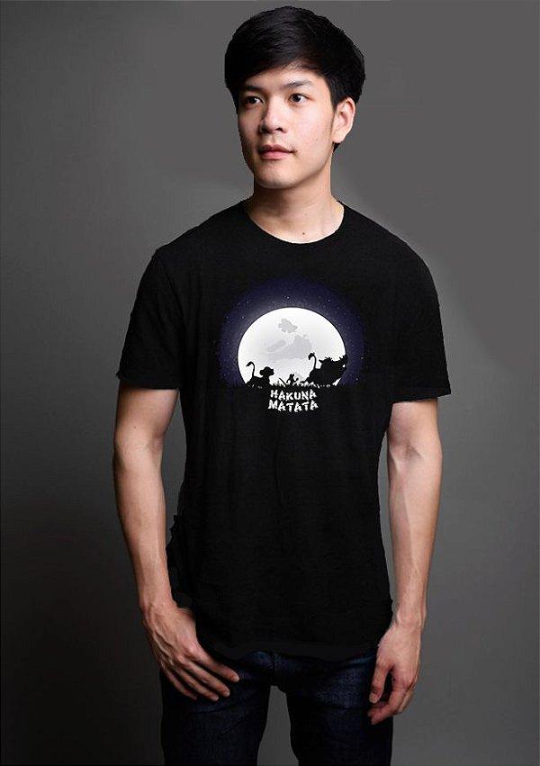 Camiseta Masculina Rei leão