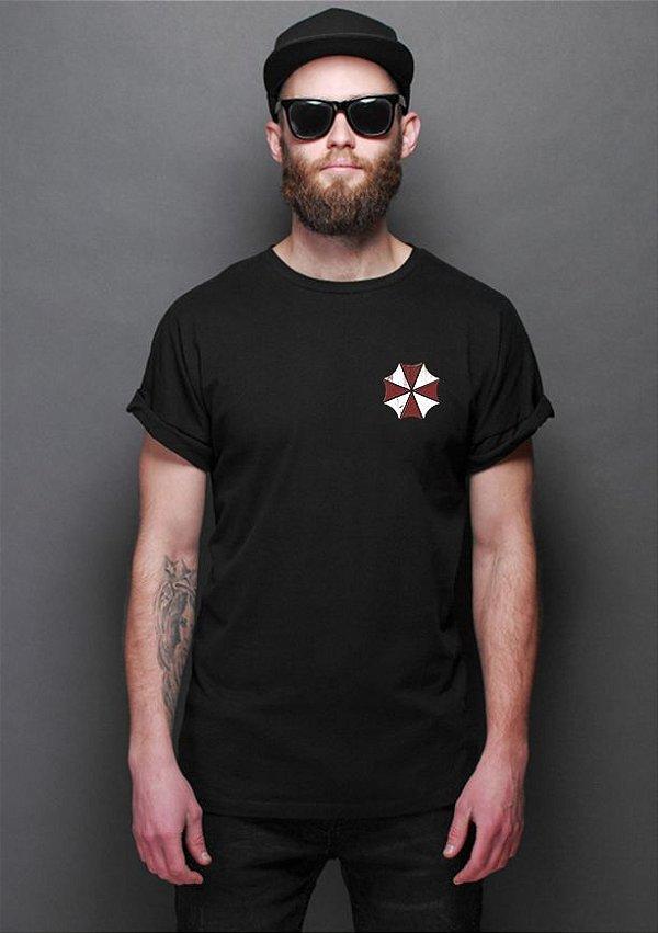 Camiseta Masculina Resident Evil