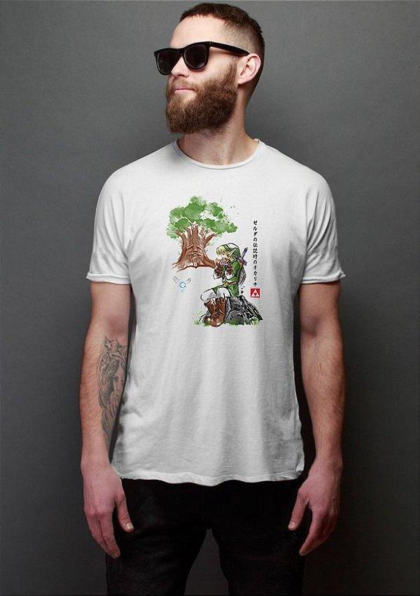 Camiseta Masculina The Legen of Zelda Link