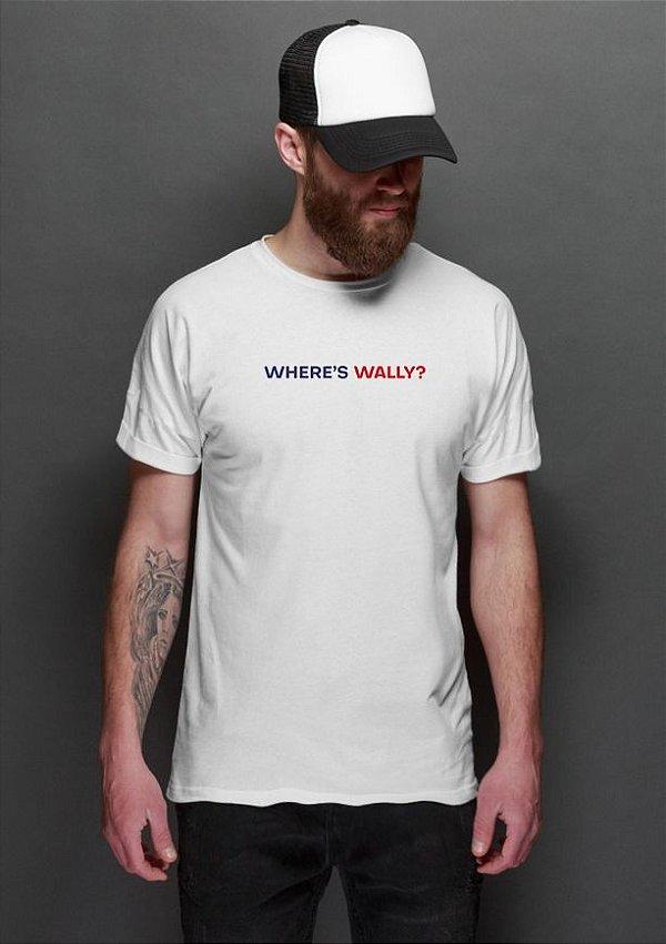 Camiseta Masculina Where's Wally