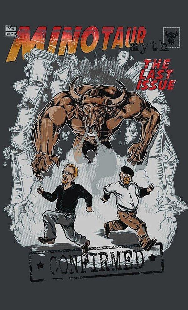 Camiseta  Heisenberg Minotaur