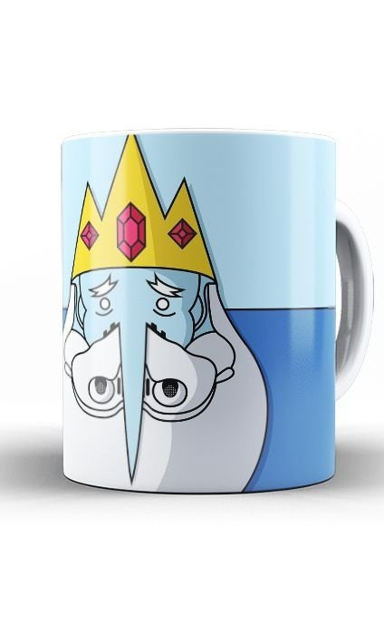 Caneca Adventure Time King Stormtrooper