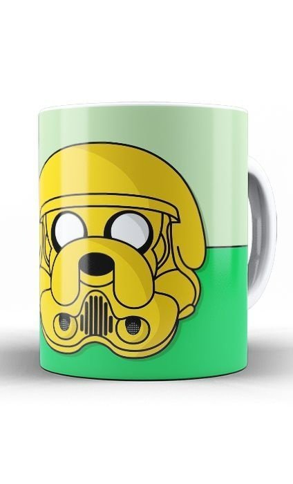 Caneca Adventure Time Dog Stormtrooper