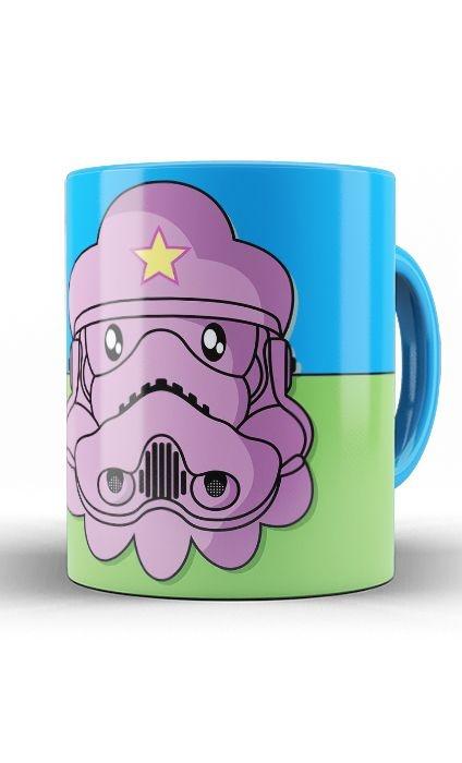 Caneca Adventure Time Space Princess Stormtrooper