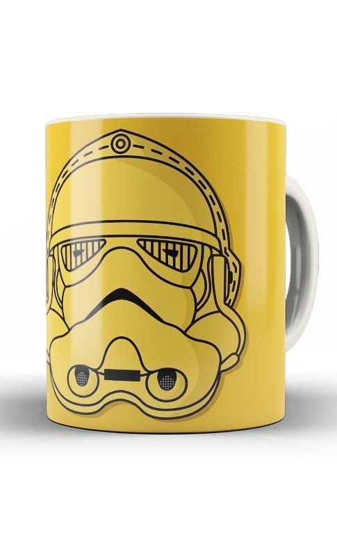 Caneca Star Wars  C3PO Stormtrooper