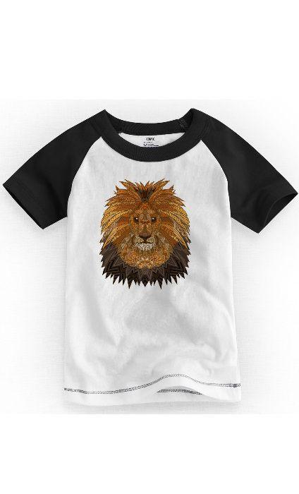 Camiseta Infantil Leão