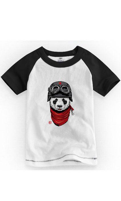 Camiseta Infantil Panda Stayle