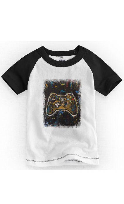 Camiseta Infantil Controle - Nerd e Geek - Presentes Criativos