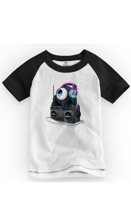 Camiseta Infantil Dj Sound - Nerd e Geek - Presentes Criativos