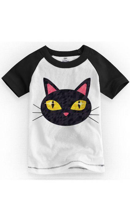 Camiseta Infantil Cat - Nerd e Geek - Presentes Criativos