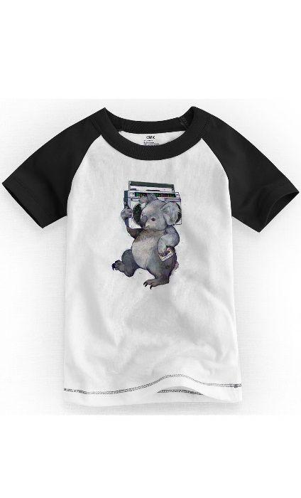 Camiseta Infantil Coala Som