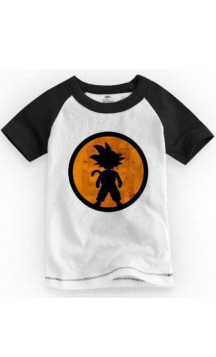 Camiseta Infantil Goku