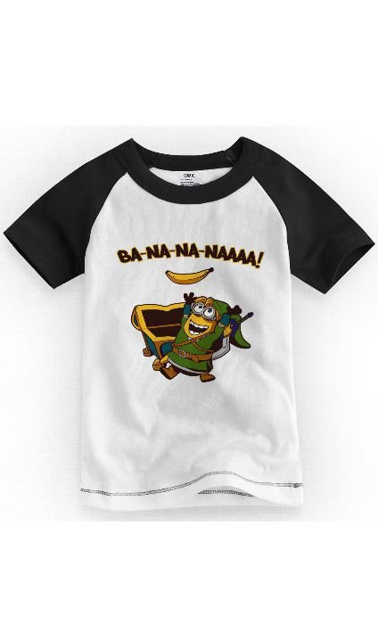 Camiseta Infantil Minions - Nerd e Geek - Presentes Criativos