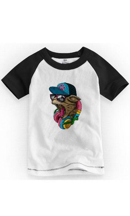 Camiseta Infantil Cat Nifty - Nerd e Geek - Presentes Criativos