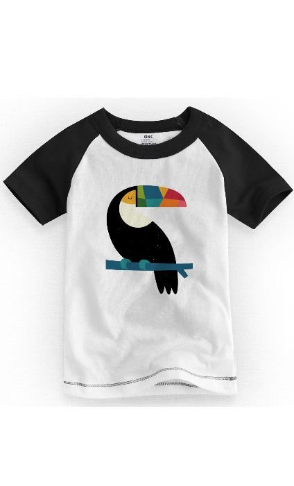 Camiseta Infantil Tucano Colors