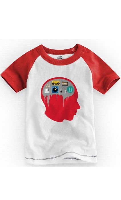 Camiseta Infantil Music - Nerd e Geek - Presentes Criativos