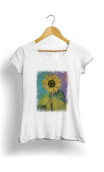 Camiseta Feminina Tropicalli Sunflower
