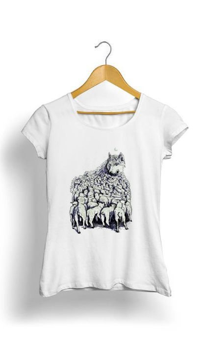 Camiseta Feminina Tropicalli Journey to Wolf Mountain