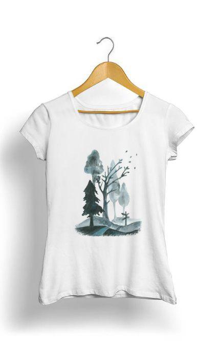 Camiseta Feminina Tropicalli Roads of Autumn