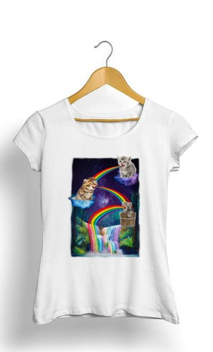 Camiseta Feminina Tropicalli Colorfalls