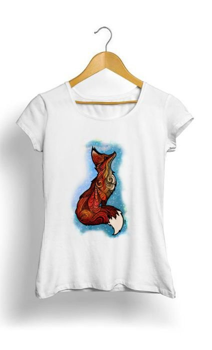 Camiseta Feminina Tropicalli Raposa