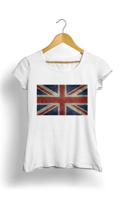 Camiseta Feminina Tropicalli Bandeira
