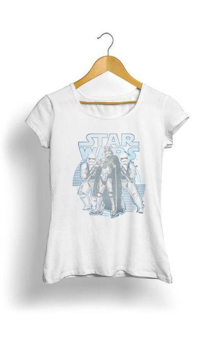 Camiseta Feminina Tropicalli Vintage First Order