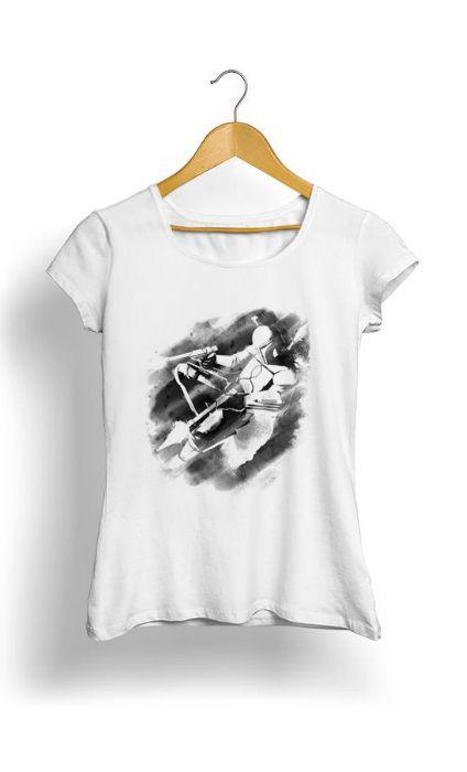 Camiseta Feminina Tropicalli Jango Fett