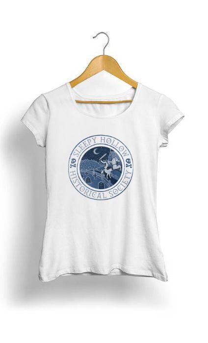 Camiseta Feminina Tropicalli Sleepy Hollow Historical Society