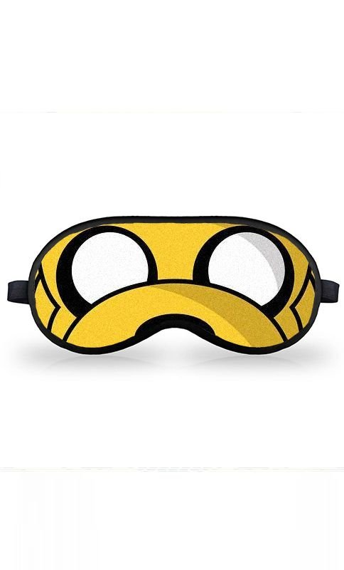 Máscara de Dormir Star Wars Adventure Time - Jake The Dog Stormtrooper