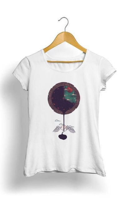Camiseta Feminina Tropicalli Night Falls