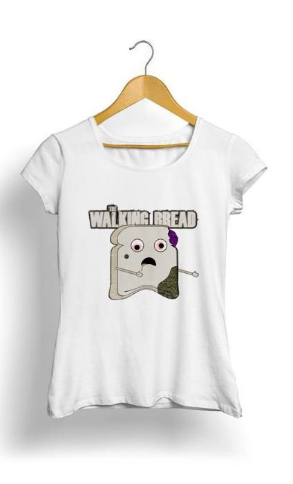 Camiseta Feminina Tropicalli The Walking Bread