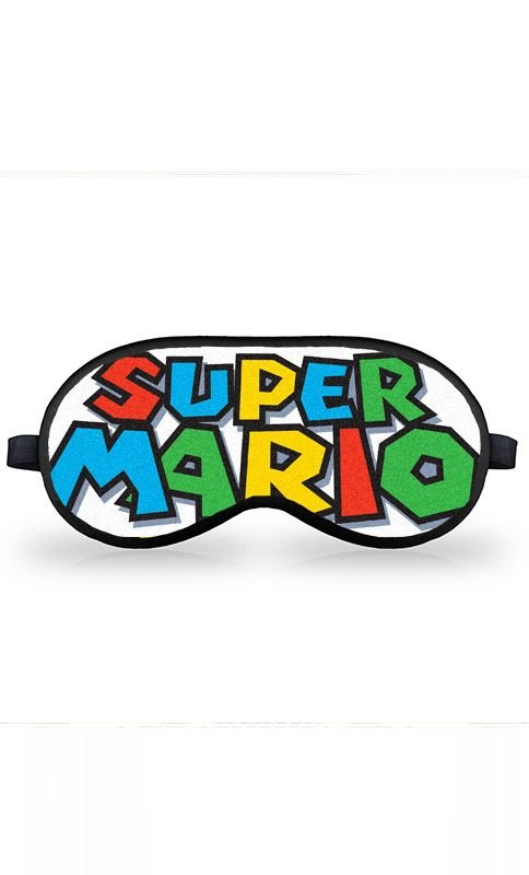 Máscara de Dormir Super Mario - Nerd e Geek - Presentes Criativos