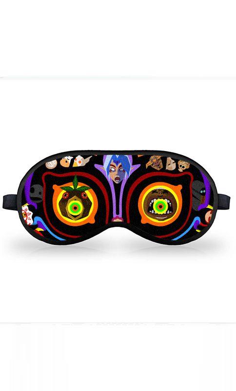 Máscara de Dormir Majora's Mask - Nerd e Geek - Presentes Criativos