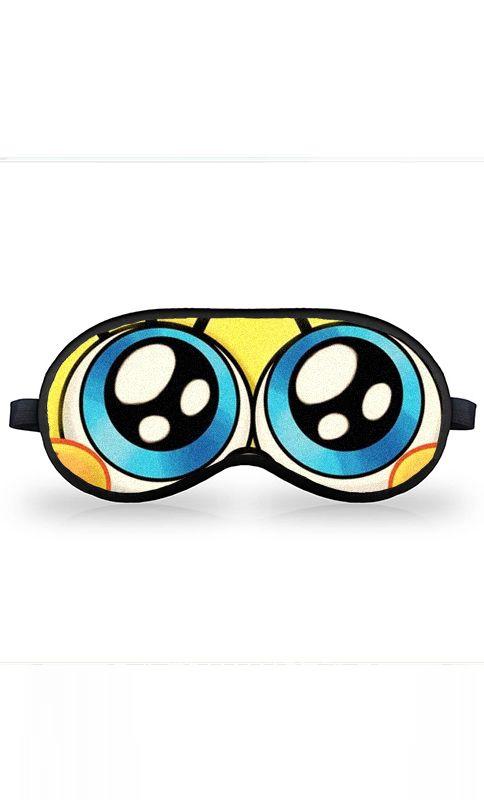 Máscara de Dormir Bob Esponja - Nerd e Geek - Presentes Criativos
