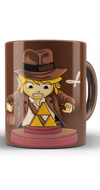 Caneca Link Indiana Jones
